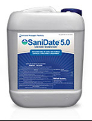 SaniDate 5.0 Sanitizer/Disinfectant - 2.5 Gallon
